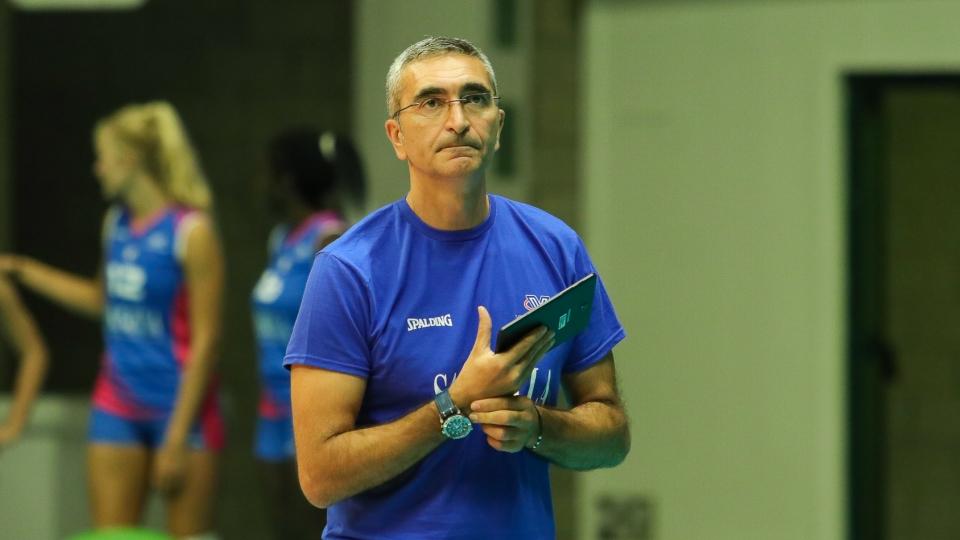 Saugella Monza a Bergamo per un allenamento congiunto con la Zanetti