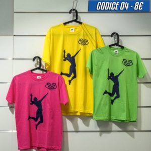 T-shirt giocatriceok