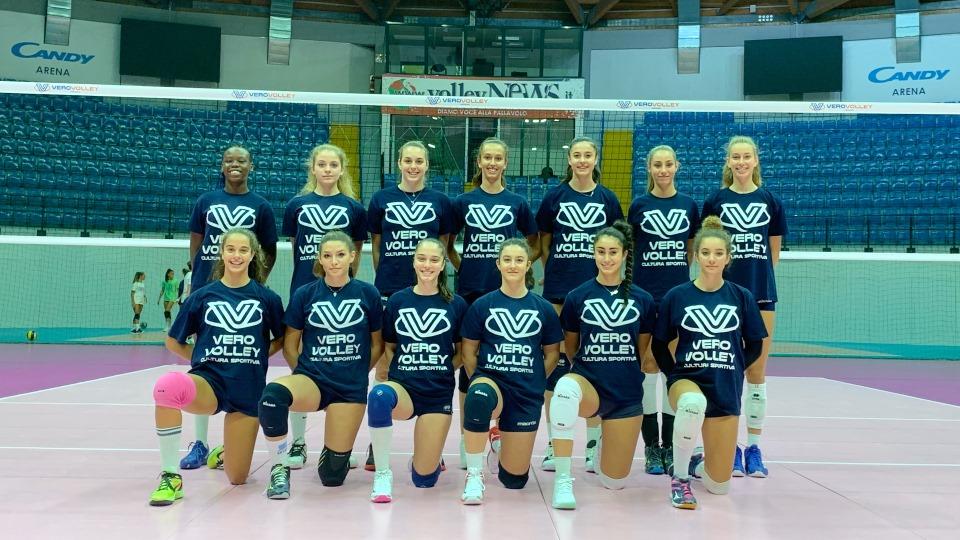 La Vero Volley Saugella Monza è pronta per la Girl League 2019