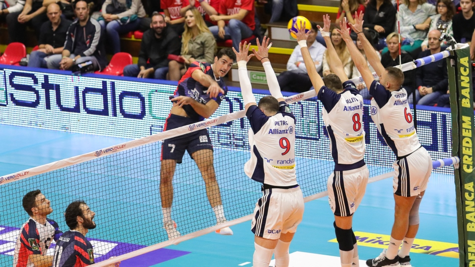 La Vero Volley Monza non passa nel derby contro Milano