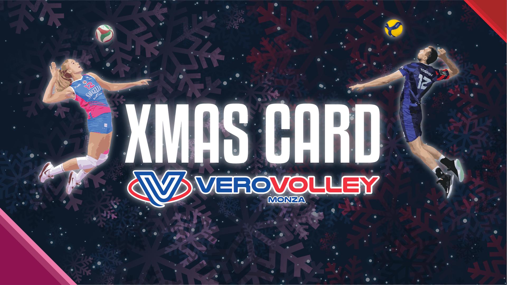 Natale si avvicina: vivilo con la Xmas Card Vero Volley!