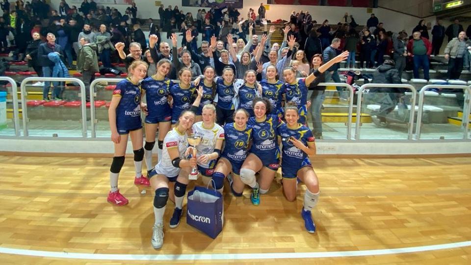 L'Ezzelina Volley Carinatese vince la Next Generation Cup Under 16