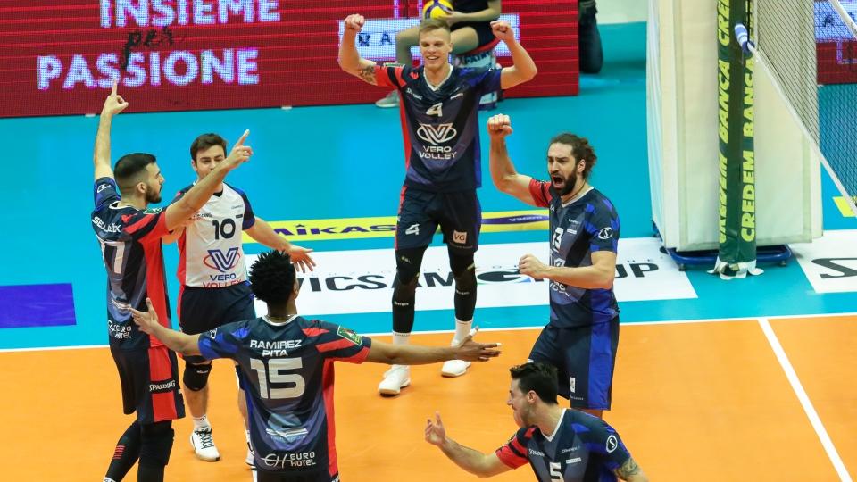 Vero Volley Monza impegnata al Pala Barton di Perugia contro la Sir Safety Conad