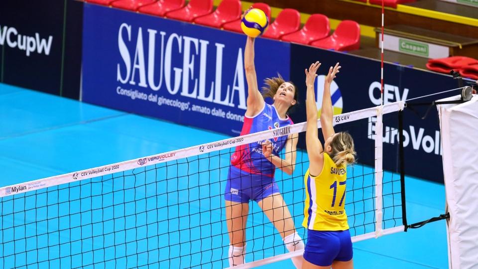 CEV Volleyball Cup: Saugella Monza a Kazan per affrontare la Dinamo nell'andata degli Ottavi di Finale