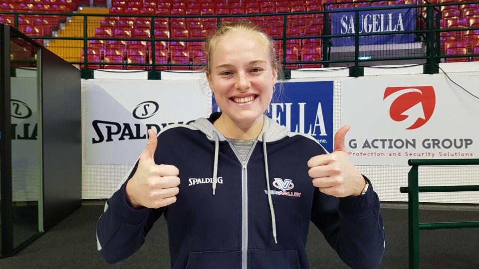 Kathryn Plummer è arrivata a Monza