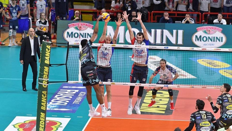 A Perugia la Vero Volley Monza non riesce a passare: finisce 3-0 per la Sir Safety Conad