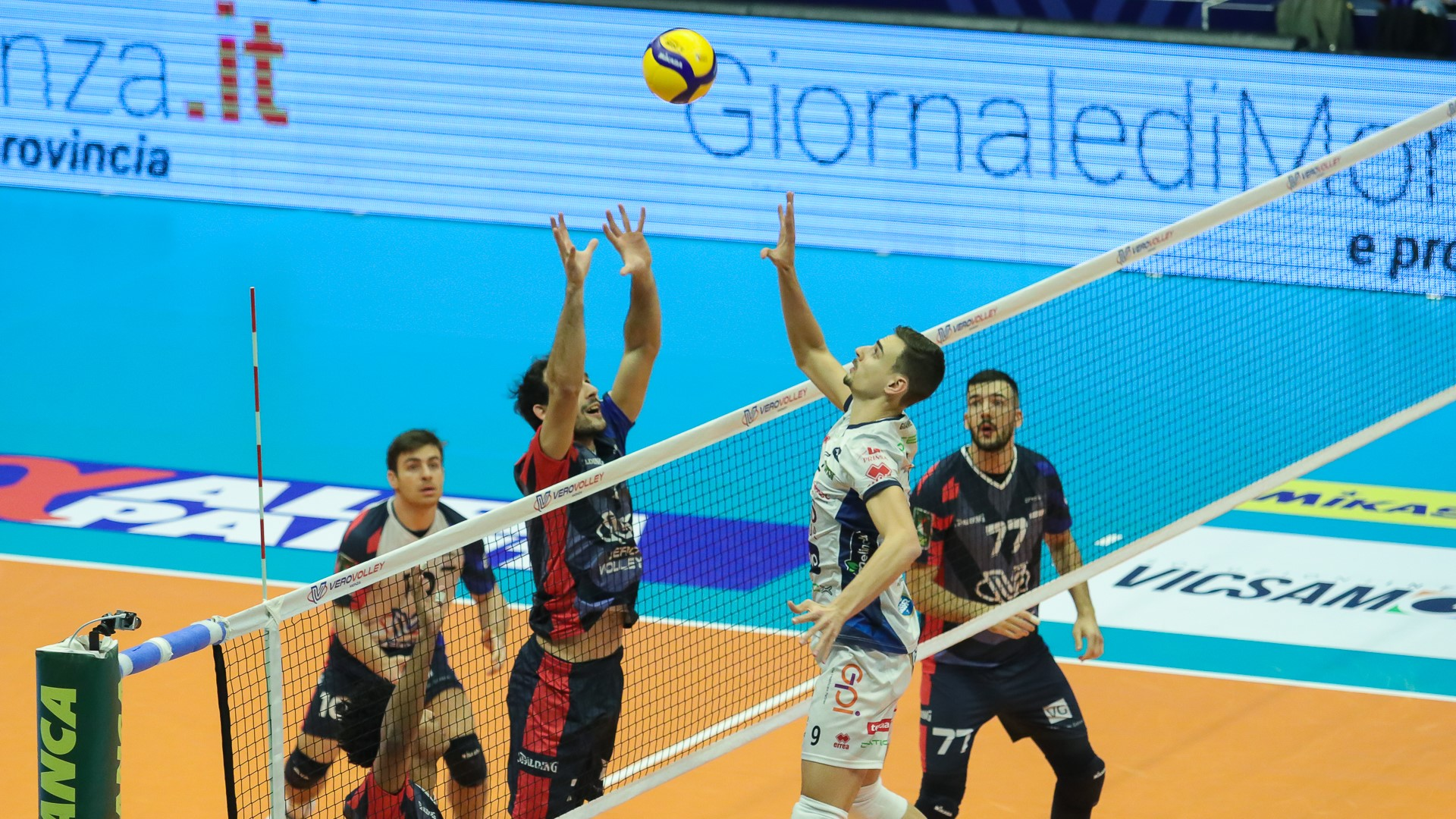 La Vero Volley Monza esce sconfitta contro l'Itas Trentino