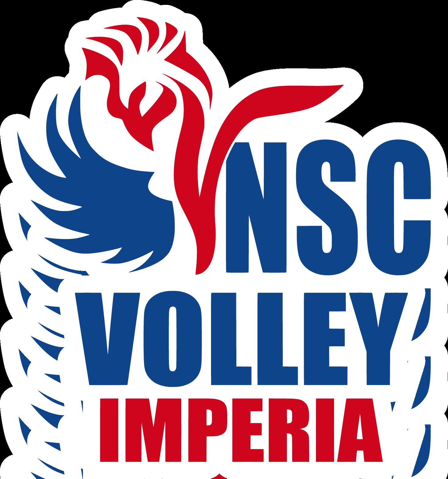 Logo NSC Volley Imperia con maschera