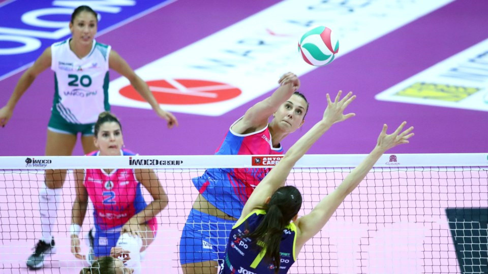 IMOCO VOLLEY CONEGLIANO - VERO VOLLEY MONZA