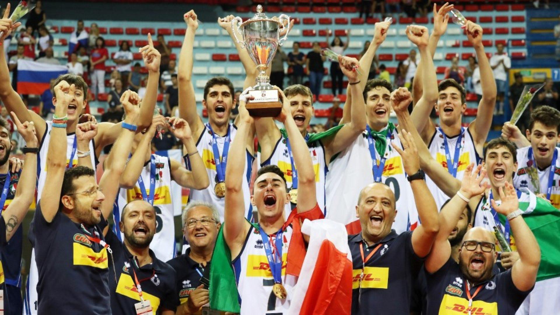 Italia Under 19 campione