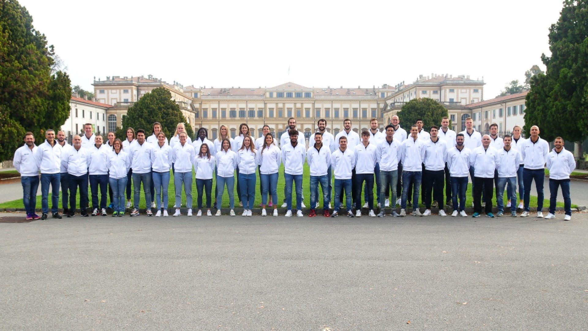 Squadre alla Villa Reale