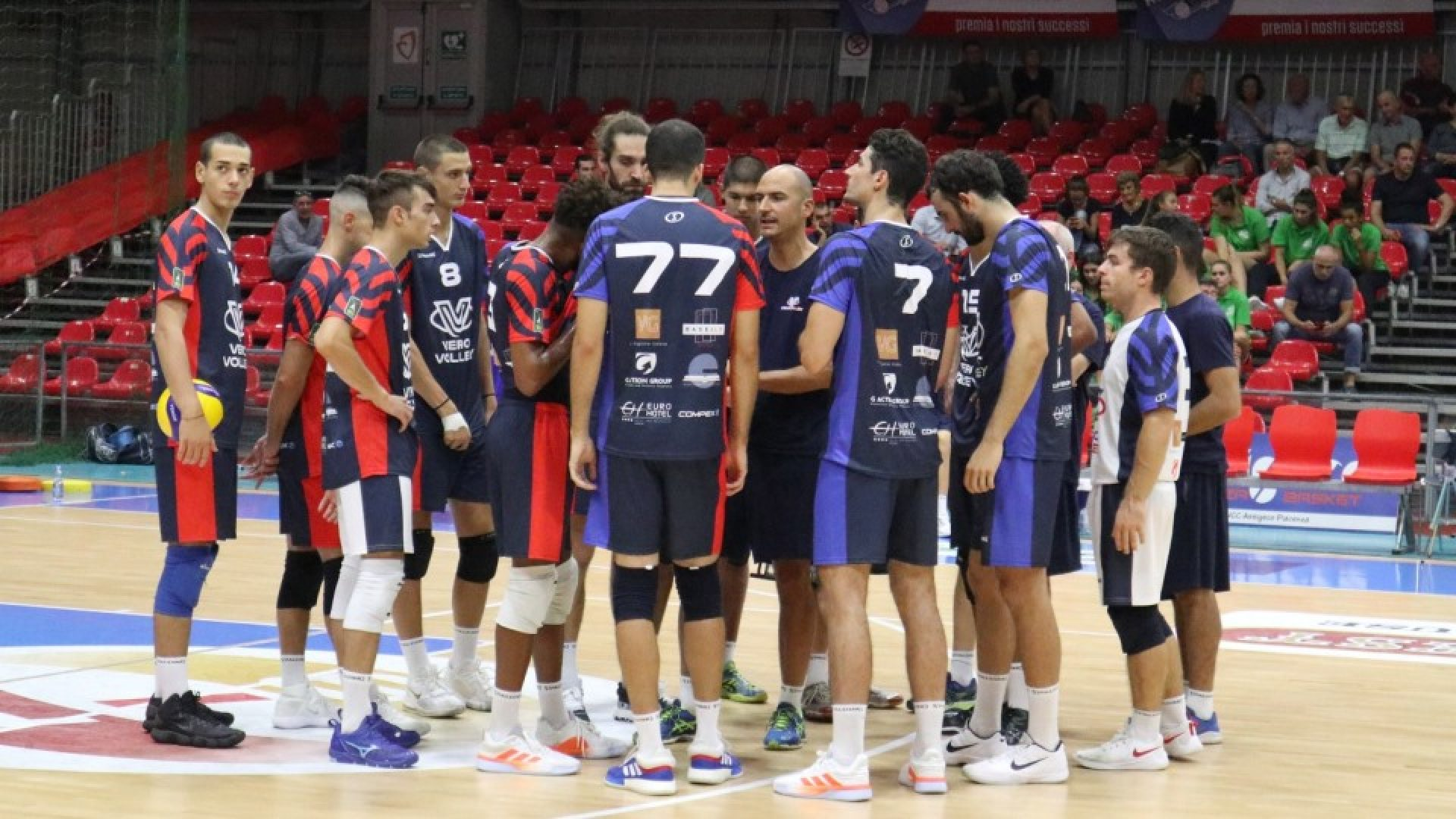 Time out Vero Volley Monza