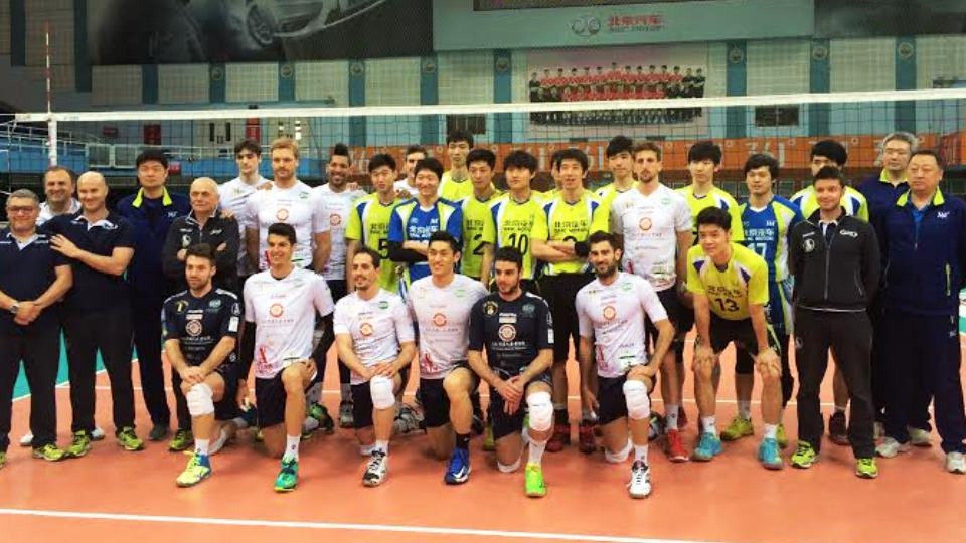 Vero Volley Monza a Pechino