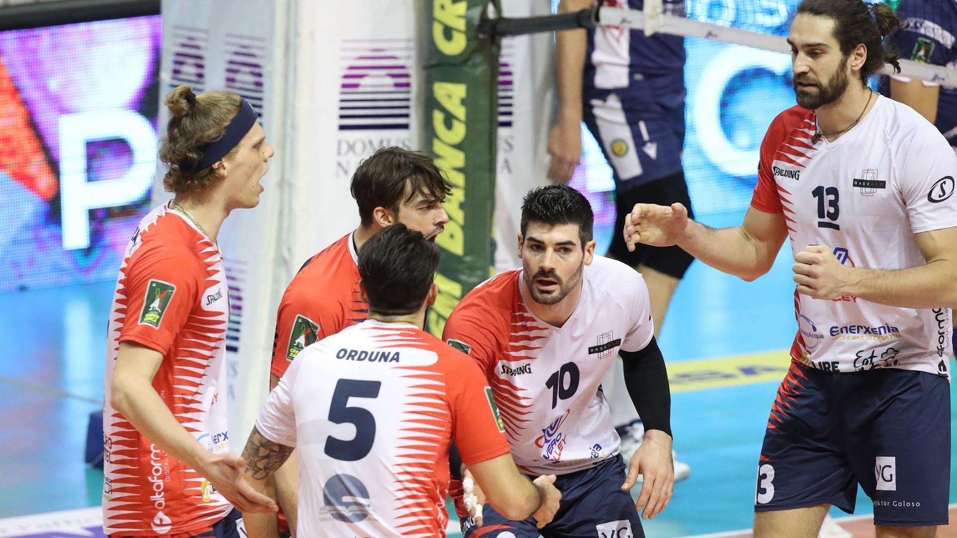 VOLLEY PALLAVOLO. Consar Ravenna - Vero Volley Monza.