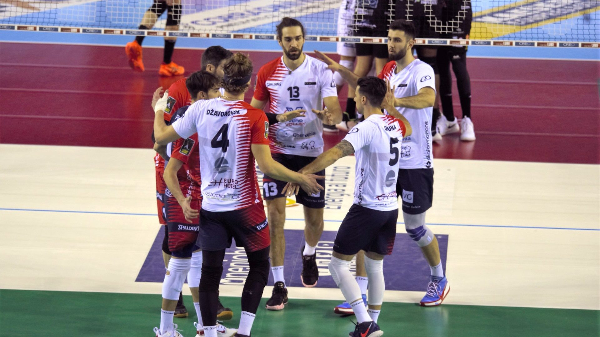 vero volley monza esultanza vs civitanova
