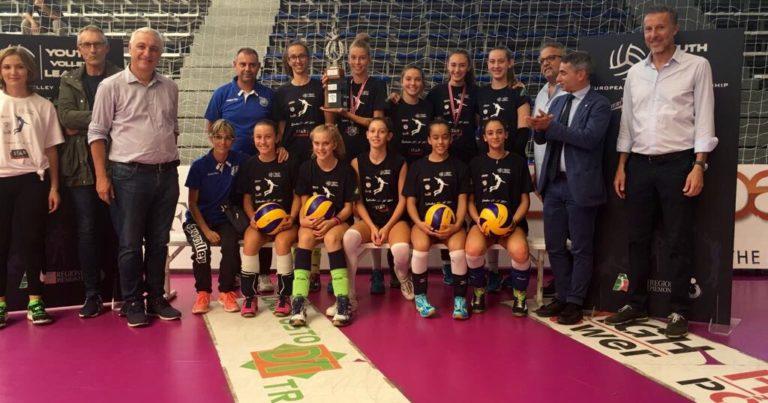 L'Under 14 Vero Volley vince la Young Volley League 2017