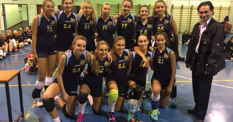 Under 14 Vero Volley Viscontini Agema vincente al torneo di Tradate