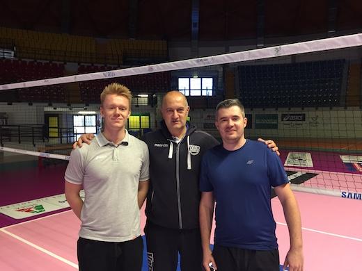 Radajewski – Sasnal, la Polonia del volley in visita al Consorzio