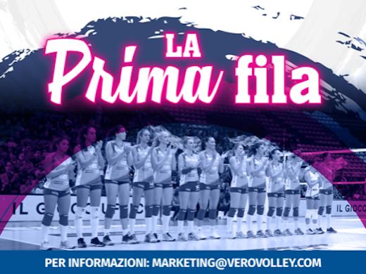 La Prima Fila torna alla Candy Arena per Saugella Monza – Bergamo