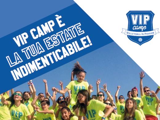 Tornano i Vip Camp, i camp estivi ufficiali del Consorzio Vero Volley