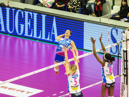 Serena Ortolani tra le 14 azzurre per la Volleyball Nations League