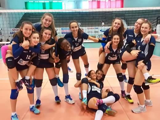 Finali nazionali U14: Vero Volley Gruppo Vicsam prima nel girone