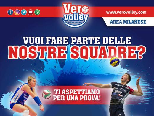 In corso la leva per la prossima stagione, vieni a giocare al Consorzio Vero Volley!