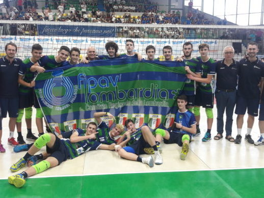 Cinque atleti Vero Volley d'oro al Trofeo delle Regioni Kinderiadi 2018