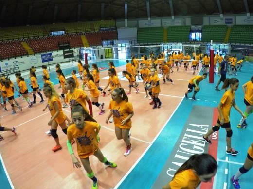 Al via la quarta settimana del Vero Volley City Camp