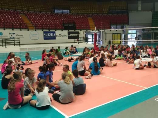Un inizio elettrizzante per il Vero Volley City Camp 2018