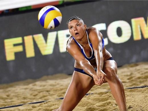 Beach volley: Gaia Traballi in azzurro per preparare la Coppa Italia