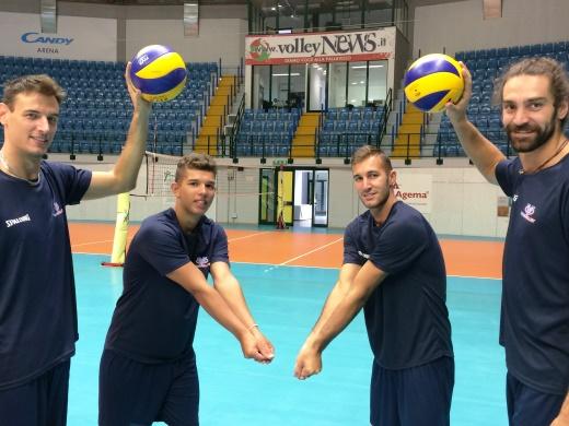 E' iniziata la terza settimana di preparazione per la Vero Volley Monza