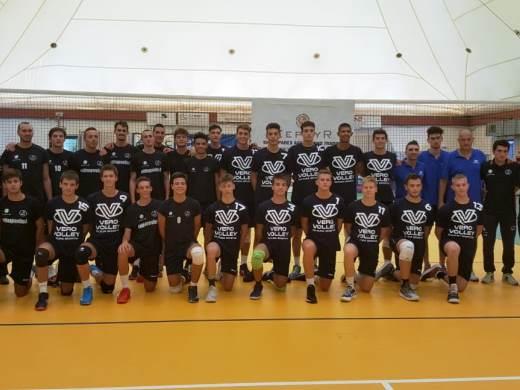 Buon allenamento per la Vero Volley Monza Under 18 a La Spezia