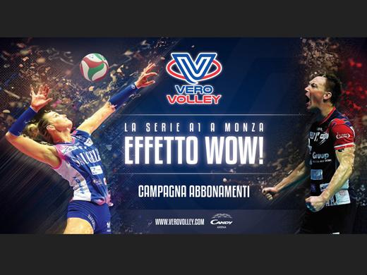 Al via la campagna abbonamenti 2018/19 del Consorzio Vero Volley: Effetto WOW!