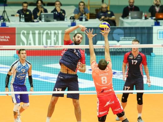 Vero Volley Monza impegnata alla Candy Arena contro i vice campioni d'Europa di Civitanova