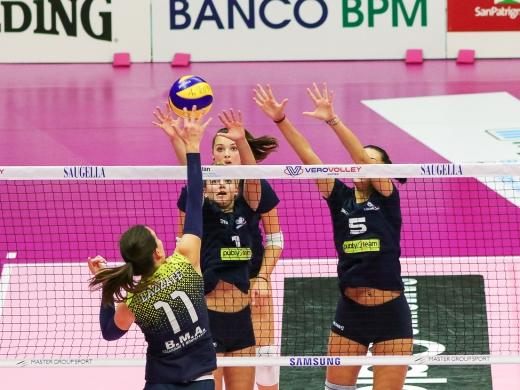 Serie CF: Vero Volley Publyteam da un punto contro Lazzate