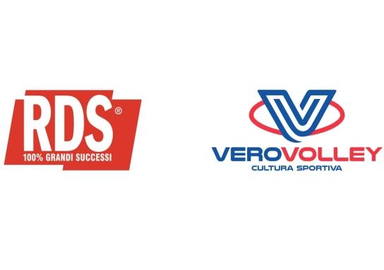 RDS 100% Grandi Successi partner del Consorzio Vero Volley