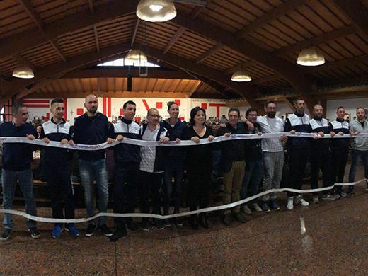 Una nuova rete firmata Vero Volley è stata consegnata alla Comunità di San Patrignano