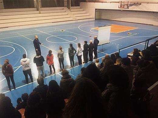 Progetto Sport per Te: primo incontro formativo alla scuola Leonardo da Vinci