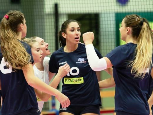 Serie CF: Vero Volley Publyteam fermata al tie-break da Cislago