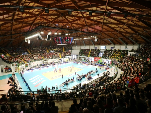 Vero Volley Monza – Itas Trentino: tribuna rossa SOLD OUT!