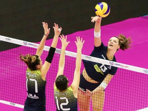Serie CF: Vero Volley Publyteam Monza da tre punti contro la Laer Adda