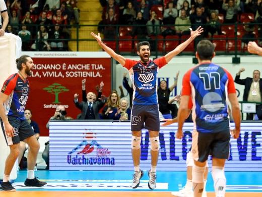Vero Volley Monza in campo alla Candy Arena nel derby contro Milano