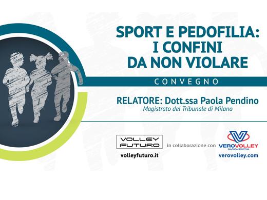 """9 marzo: convegno """"Sport e pedofilia: i confini da non violare"""" alla Candy Arena di Monza"""