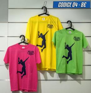 T-shirt giocatrice