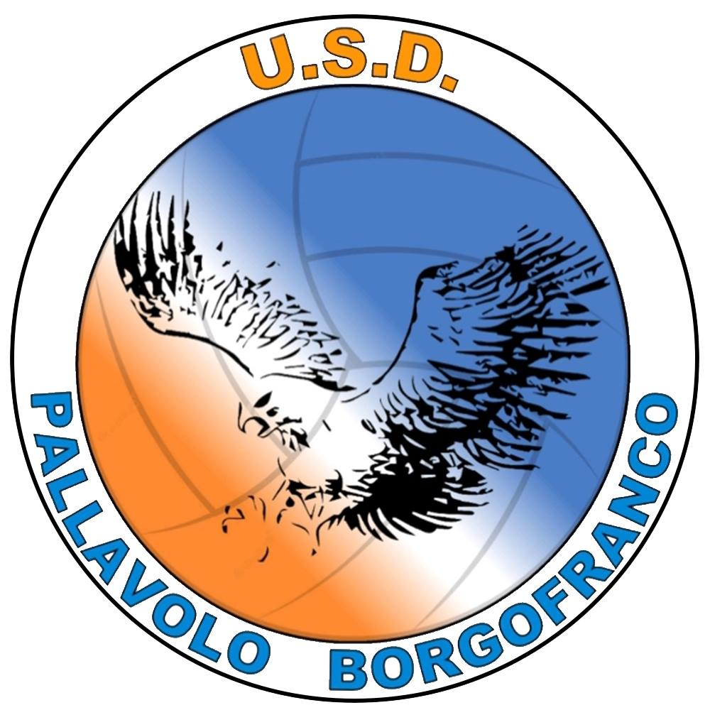 pallavolo borgofranco logo
